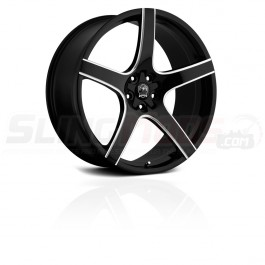 "Motiv Maranello Gloss Black 18"" / 20"" Wheel Set for the Polaris Slingshot"