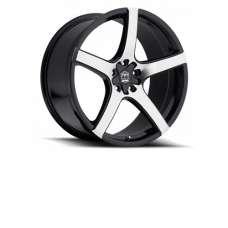 "Motiv Maranello Silver / Black 18"" / 20"" Wheel Set for the Polaris Slingshot"