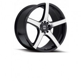 "Motiv Maranello Silver / Black 18"" / 20"" Wheel Set for the Polaris Slingshot"