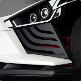 ZSW Kylo Front End Side Grille Fillers for the Polaris Slingshot (Set of 2)