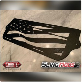 ZSW Waved Front Grille for the Polaris Slingshot (2015-19)