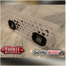 ZSW Honeycomb LED Front Grille for the Polaris Slingshot (2015-19)