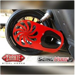 ZSW Turbine Belt Guard for the Polaris Slingshot