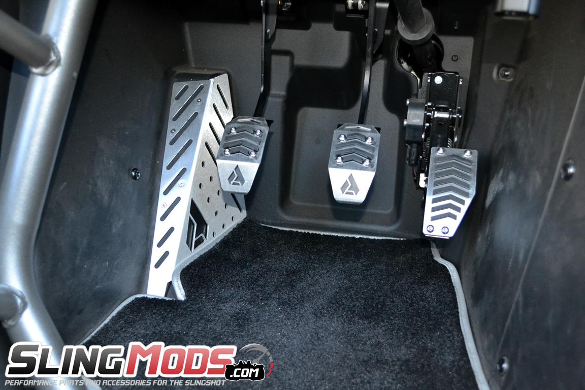 Fits: Polaris Slingshot Assault Industries New R-Spec Pedal Set