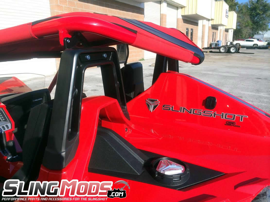 bullet speed v back canvas roof top for the polaris slingshot - Polaris Slingshot Roof