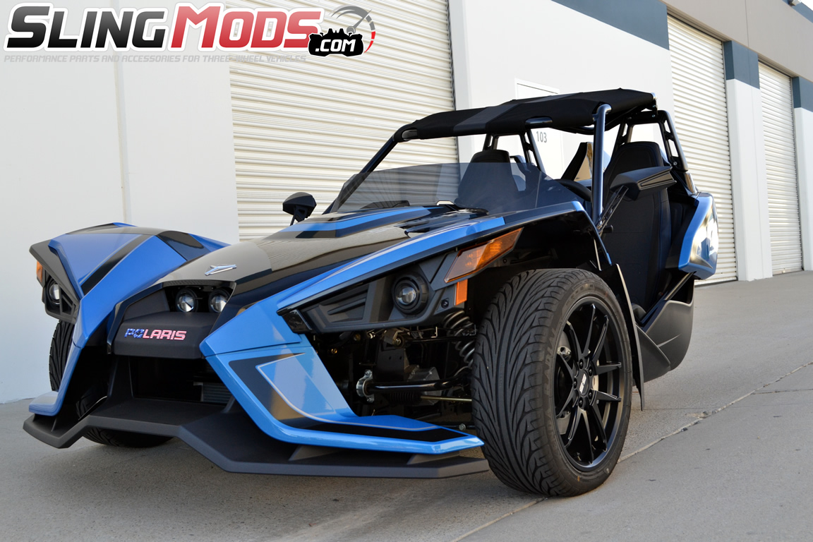 Polaris Slingshot V Back Roof Top By Bullet Speed And