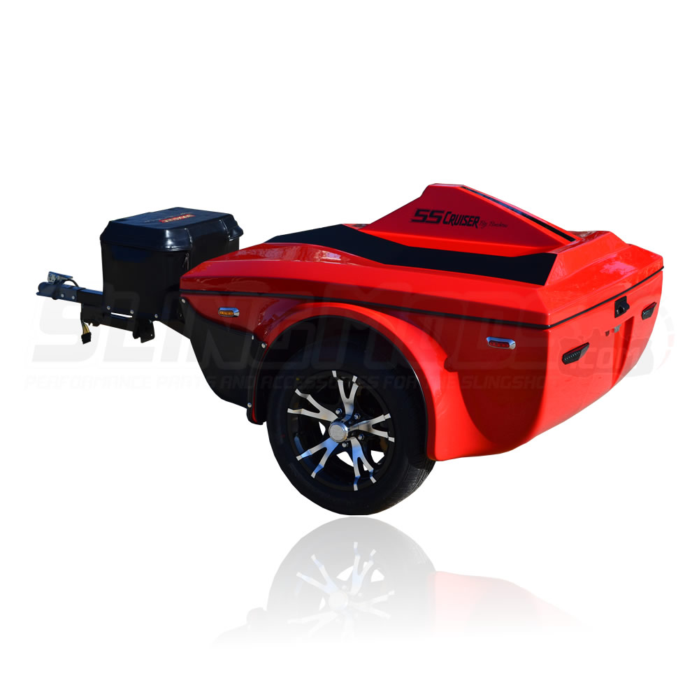 Tow Harness For Towables Polaris Slingshot Ss Cruiser Towable Trailer By Bushtec The