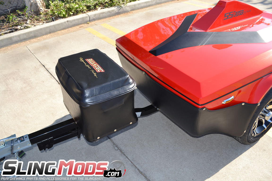 Polaris Slingshot Ss Cruiser Towable Trailer By Bushtec Tow Harness For Towables The