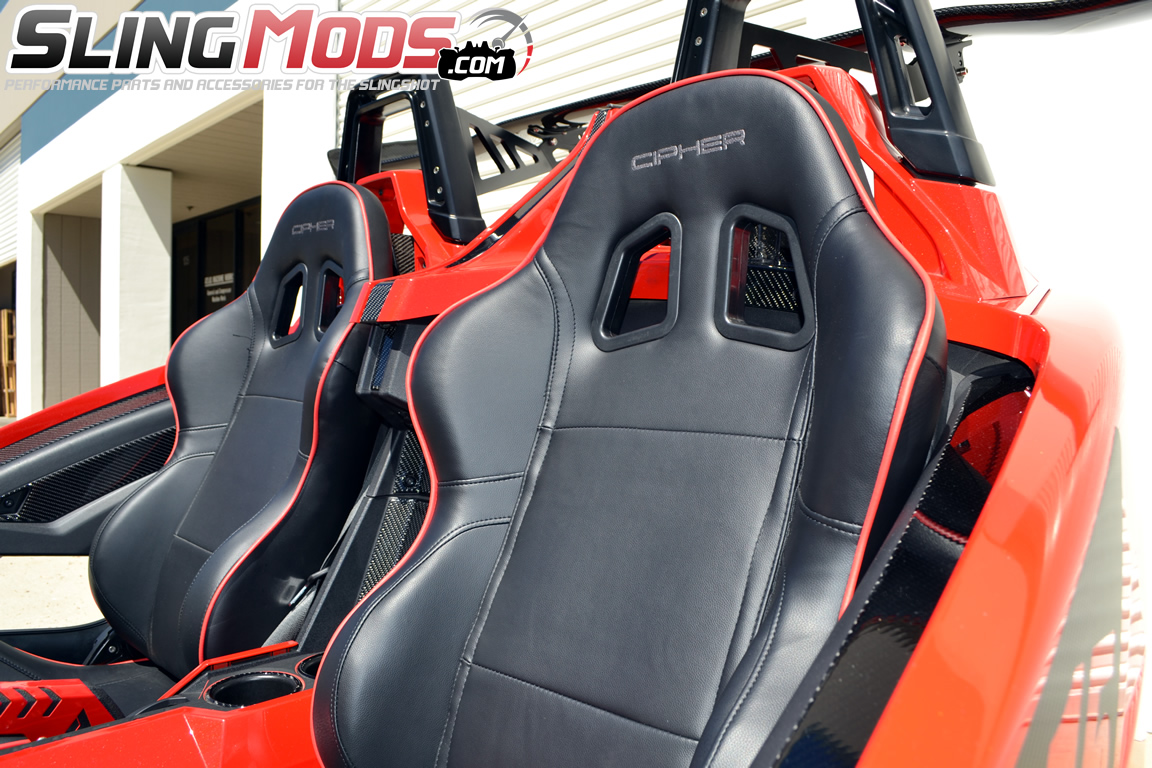 cipher auto cpa1031 series racing seats for the polaris slingshot discount polaris. Black Bedroom Furniture Sets. Home Design Ideas