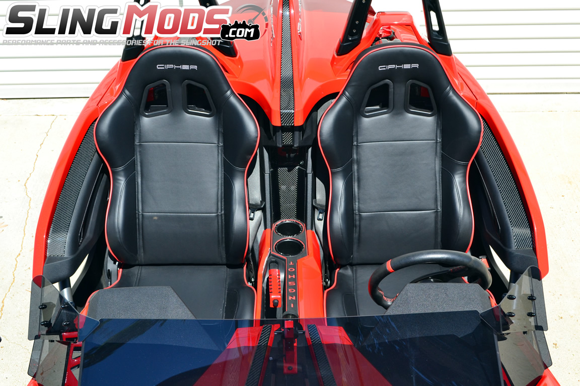 Cipher Auto Cpa1031 Racing Seats For The Polaris Slingshot
