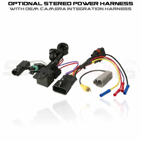 optional stereo power harness camera clarion cms5 bluetooth audio receiver for the polaris slingshot clarion cms5 wiring diagram at mifinder.co