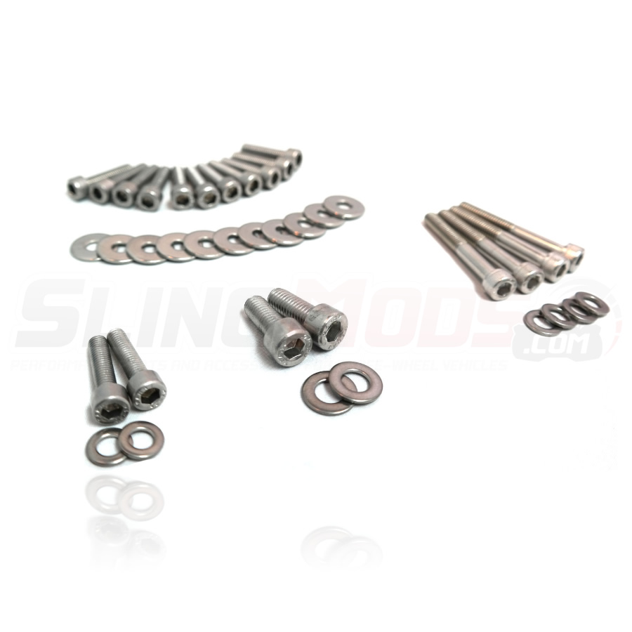 Polaris Slingshot Stainless Steel Engine Dress Up Bolt Kit