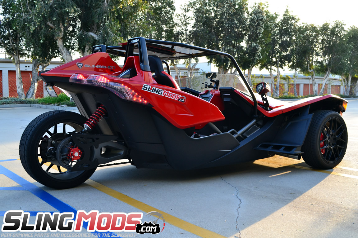 polaris slingshot panoramic roof top by fab factory. Black Bedroom Furniture Sets. Home Design Ideas