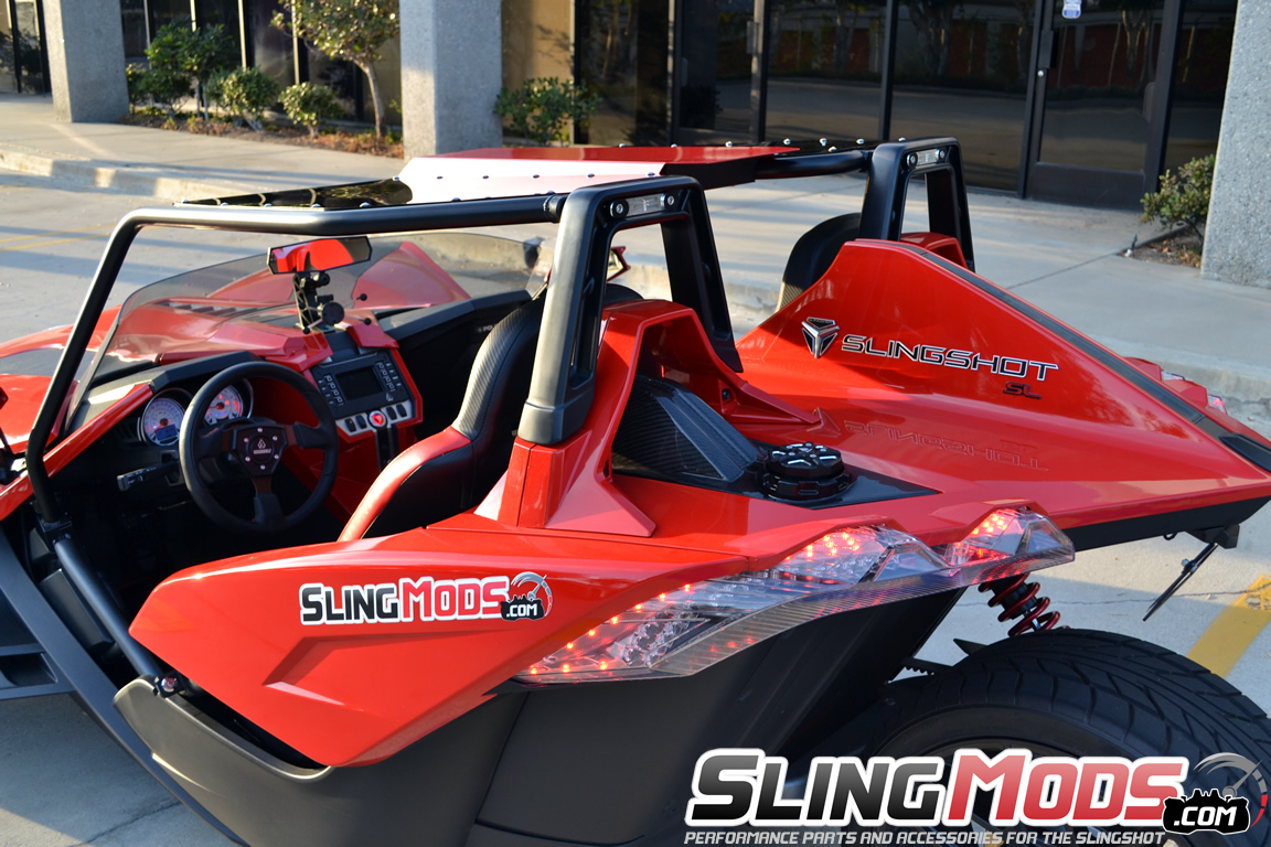 Polaris Slingshot Panoramic Roof Top By Fab Factory