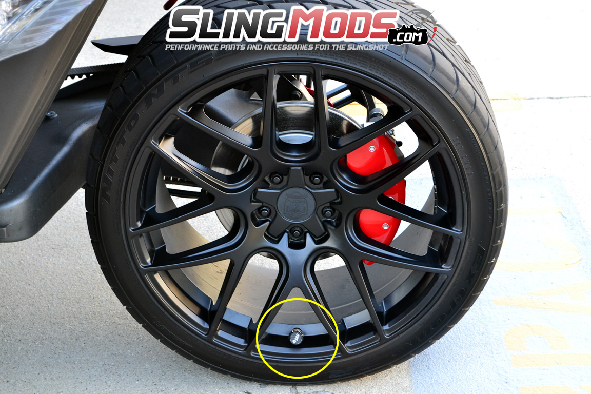 Polaris Slingshot Electronic Tire Pressure Monitoring