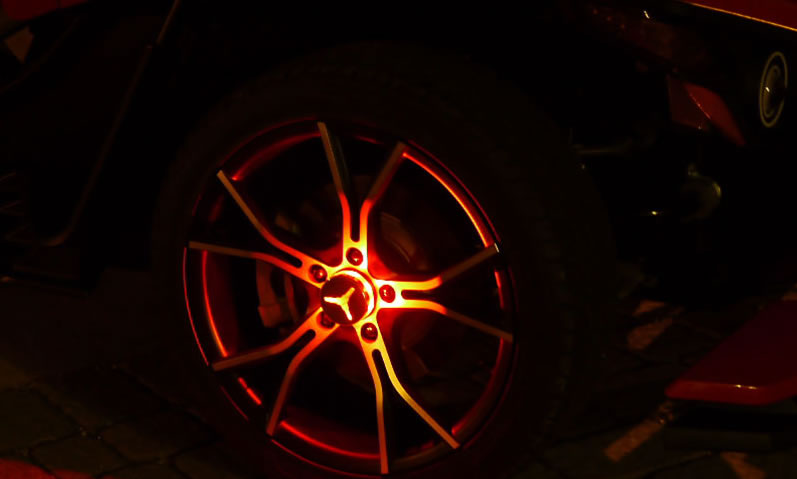 polaris slingshot wheel lights by gloryder