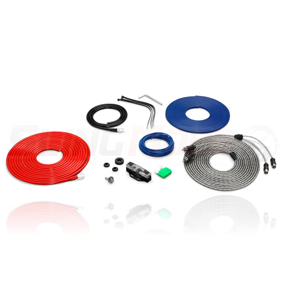 polaris slingshot single amplifier connection kit from jl ... jl audio amplifier wiring diagram #9