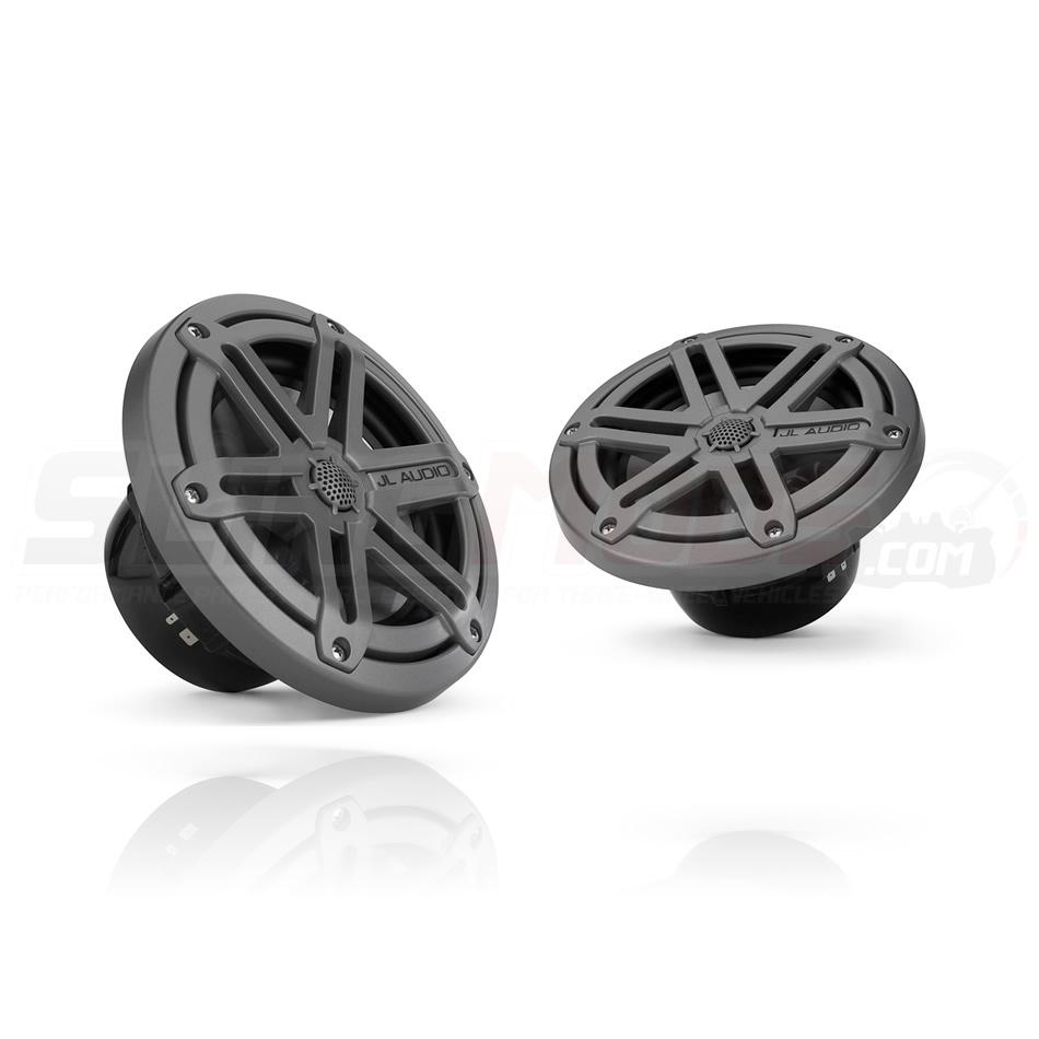 JL Audio 7.7-inch 400 Watt Marine Coaxial Speaker Set w// Titanium Sport Grilles