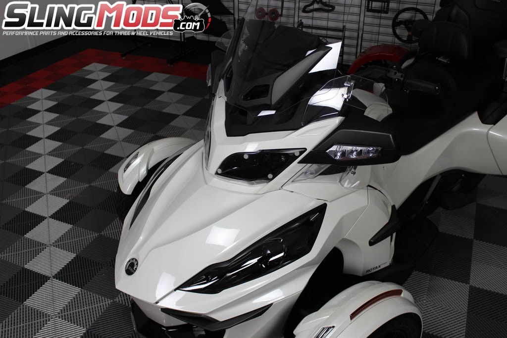 Lampgard Clear Acrylic Headlight Protectors For The Can Am Spyder Rt Pair