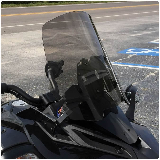Can Am Spyder F3 F3s Tinted Amp Clear Adjustable