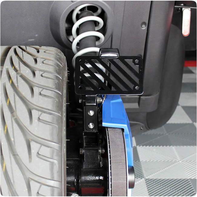 Metricks Lower Shock Mount License Plate Re-locator Kit for the Polaris  Slingshot