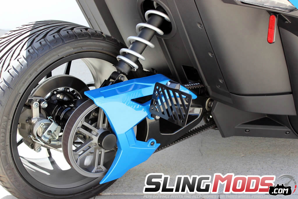 polaris slingshot swingarm license plate relocator kit by. Black Bedroom Furniture Sets. Home Design Ideas