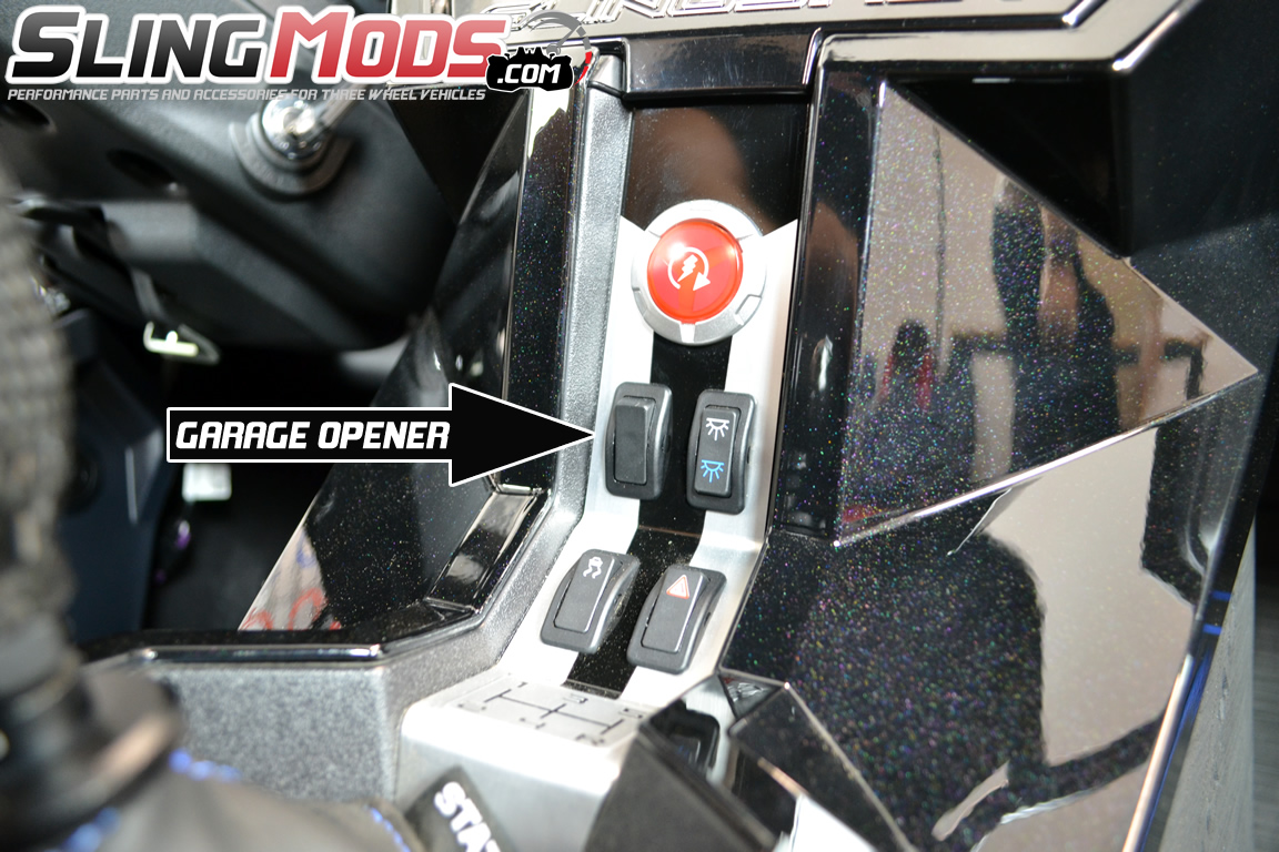 Polaris Slingshot Garage Door Opener By Mo Door