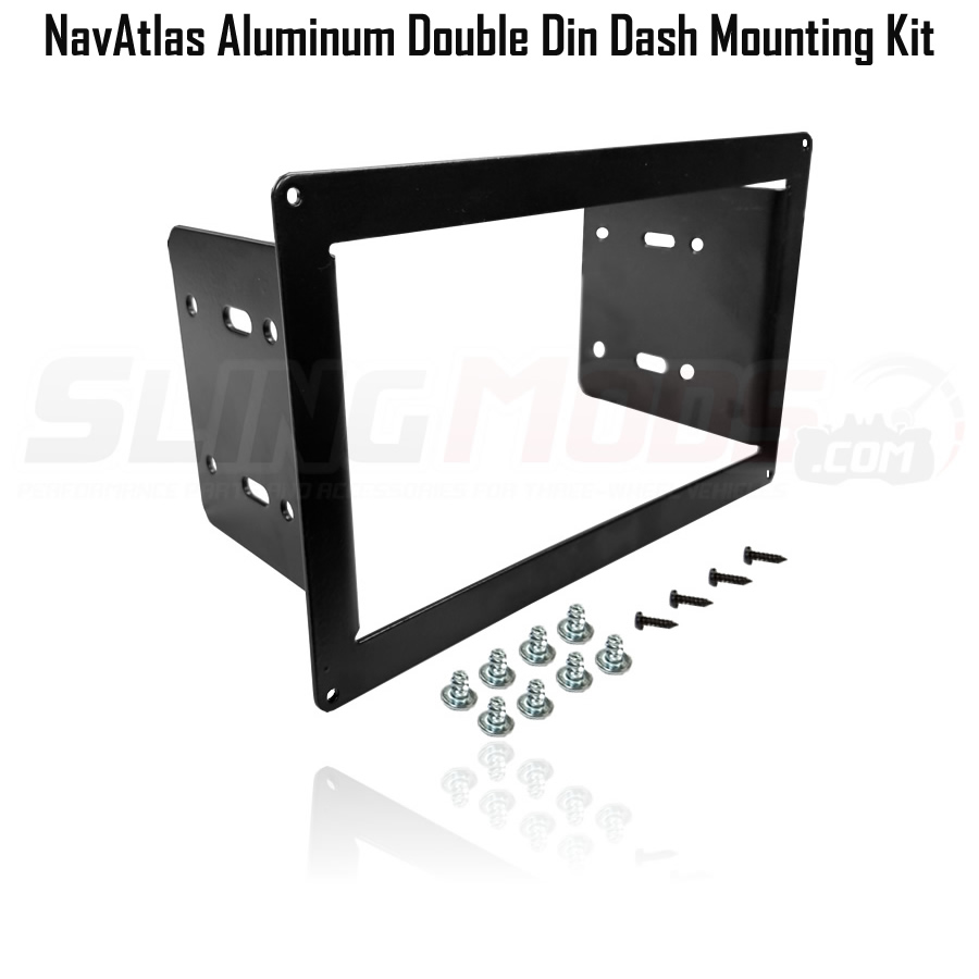 navatlas double din dash mounting kit option clarion nx807 cd dvd navigation 7\