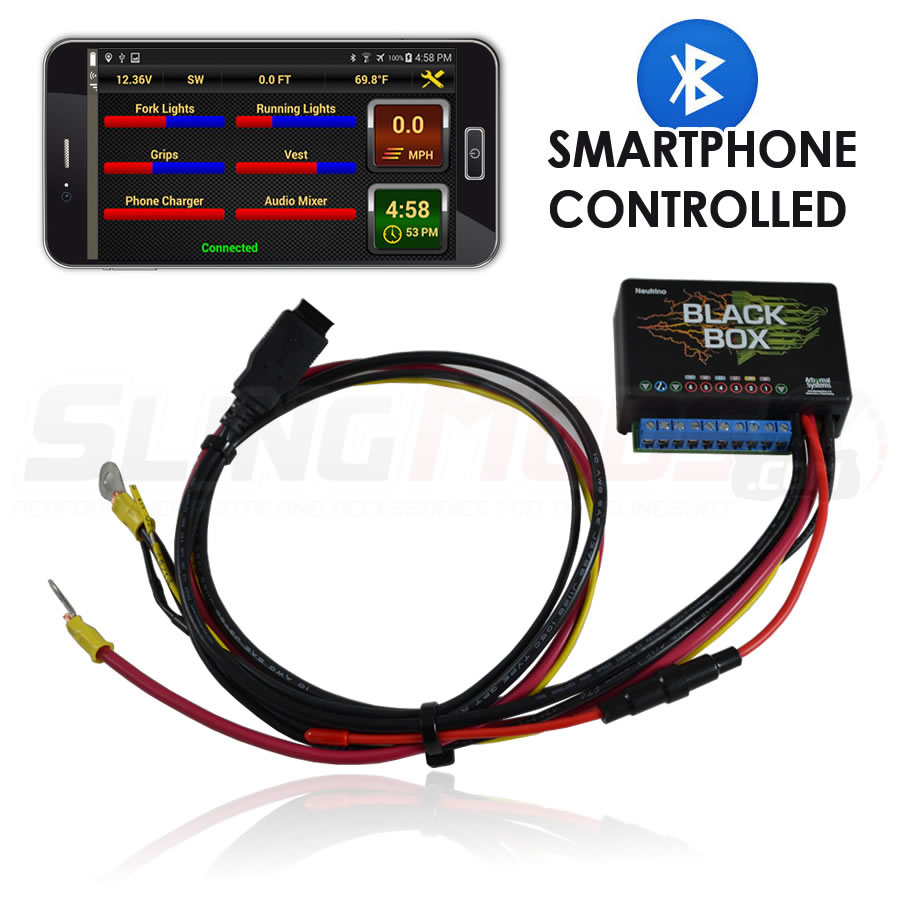... Neutrino SmartPhone Controlled Accessory Fuse Block for the Polaris  Slingshot ...