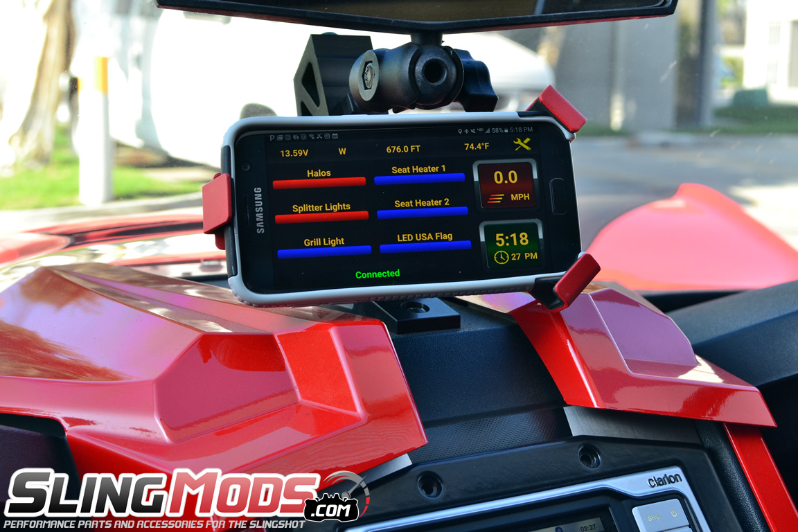 Neutrino Element Fuse Block For The Polaris Slingshot Us Cover Box Smartphone Controlled Accessory