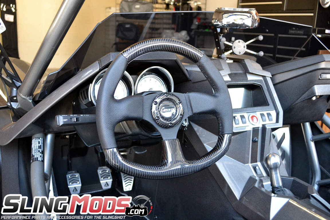 Polaris Slingshot Carbon Fiber Steering Wheel