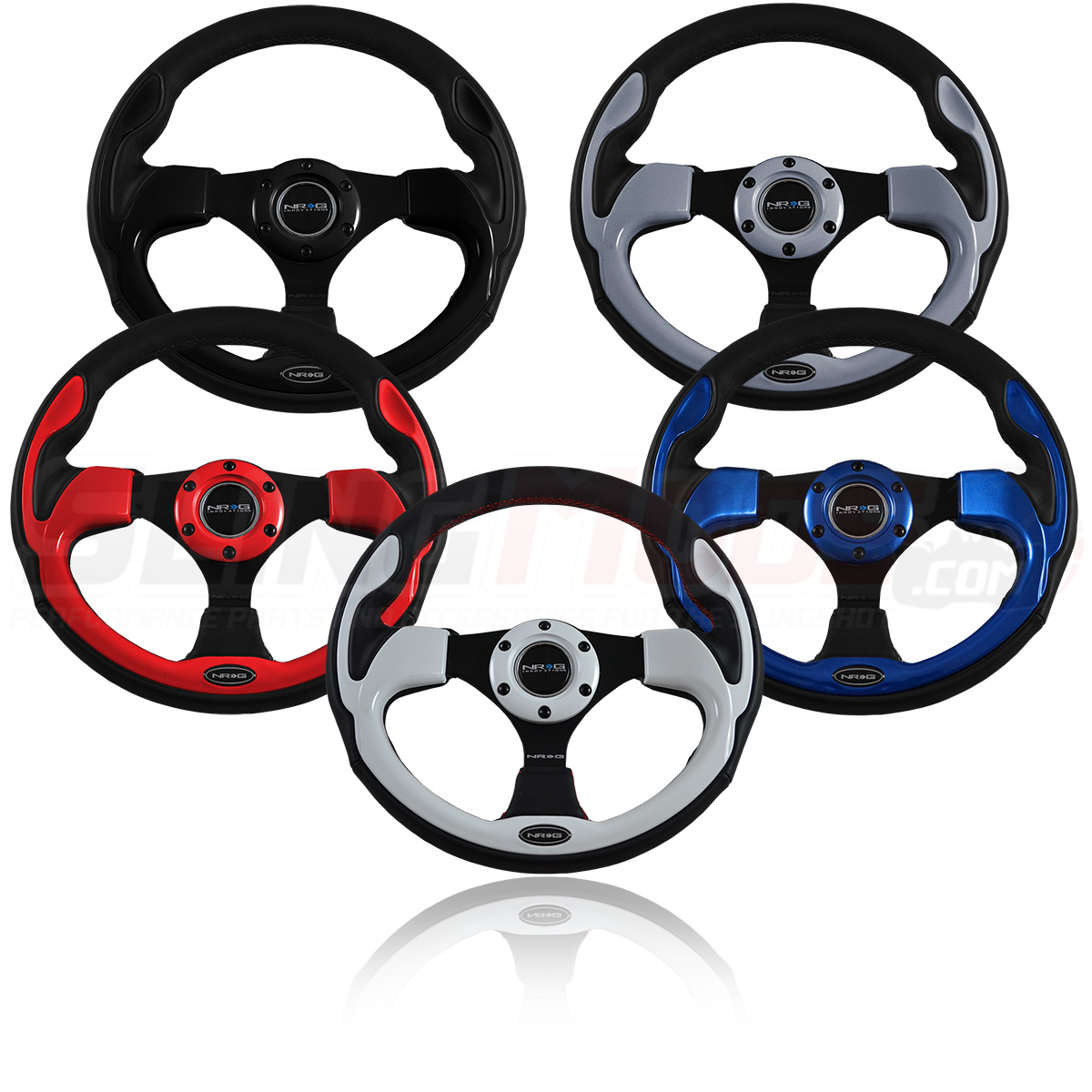 Polaris Slingshot Pilota Series Steering Wheels by NRG