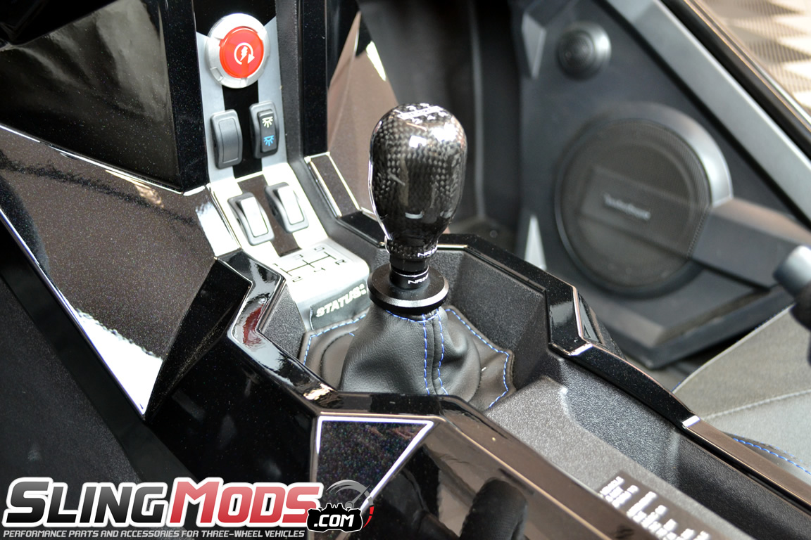 Polaris Slingshot Threaded Shift Knob Adapter By Nrg