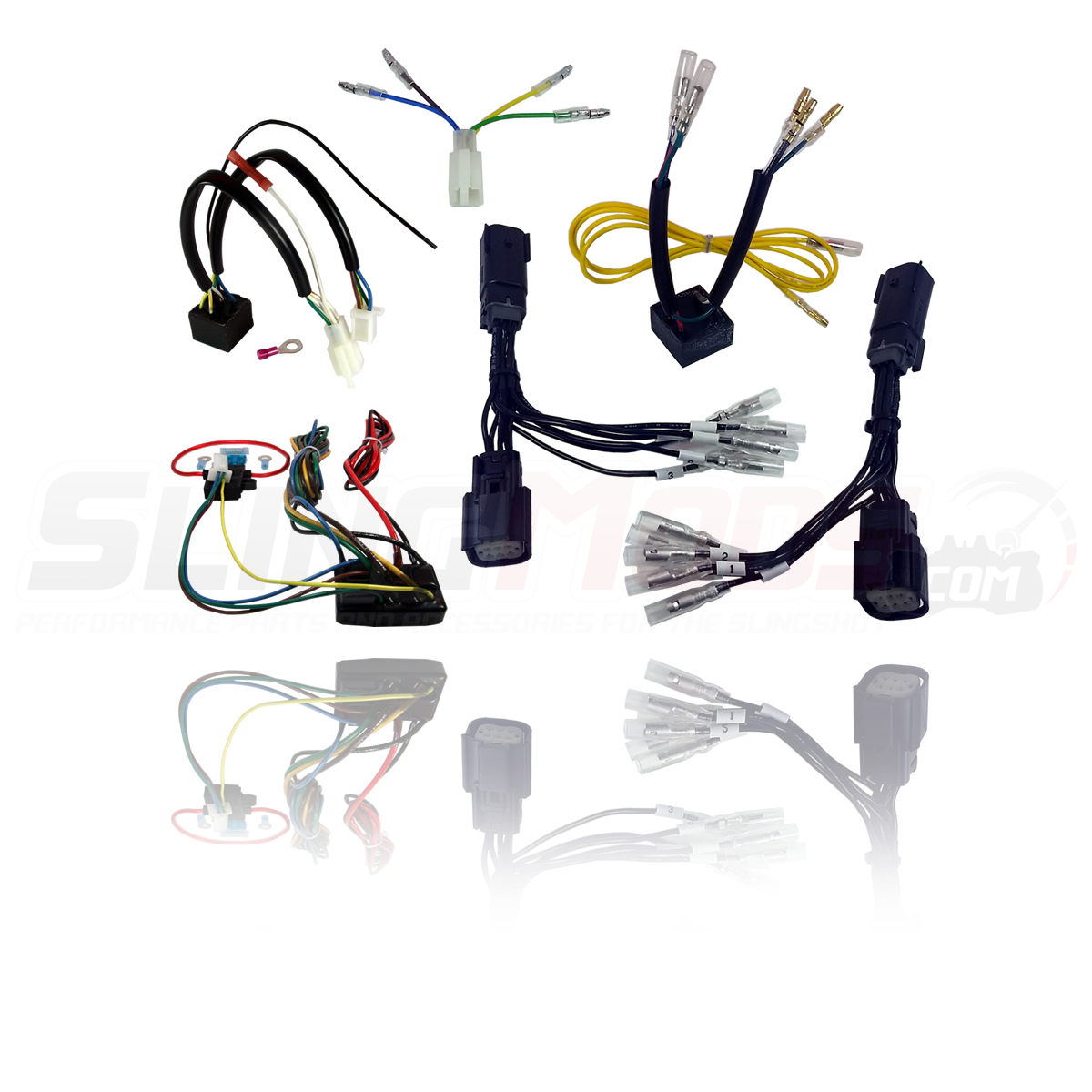 Bushtec Trailer Wiring Harness Library 2015 Gl1800 Diagram Electrical Connection Hitch For The Polaris Slingshot