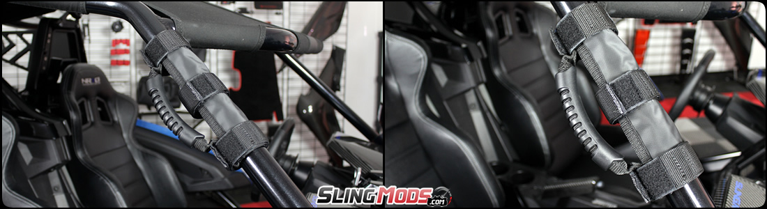 Polaris Slingshot Holy Moly Velcro Grab Handle By Prp