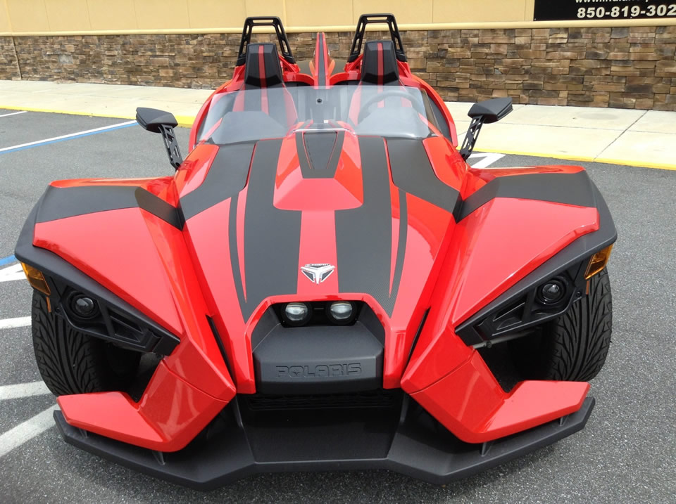 Polaris Slingshot Precut Vinyl Graphics Decal Kit