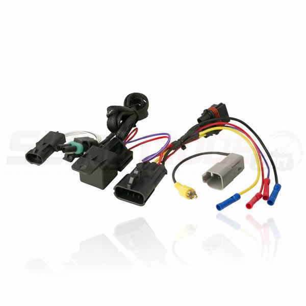 polaris slingshot stereo power harness backup camera integration scosche polaris slingshot aftermarket stereo wiring harness with oem backup camera wiring harness at edmiracle.co
