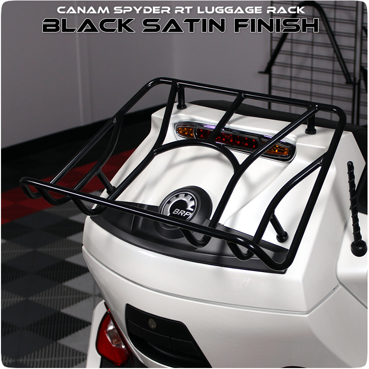 Can Am Spyder Rt Luggage Rack Black Amp Chrome