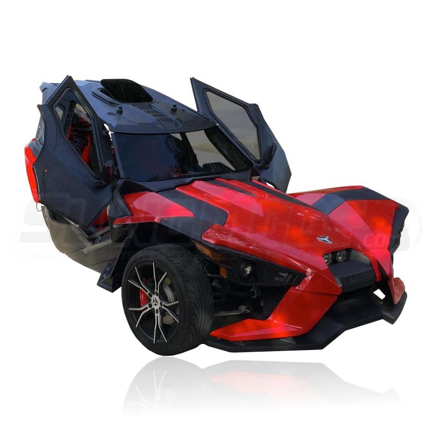 Polaris Sling Shot >> Polaris Slingshot Roof Windows Doors Full Enclosure System By