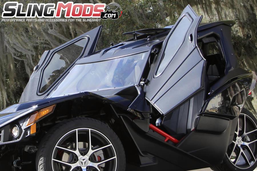 Polaris Slingshot Roof Windows Amp Doors Full Enclosure