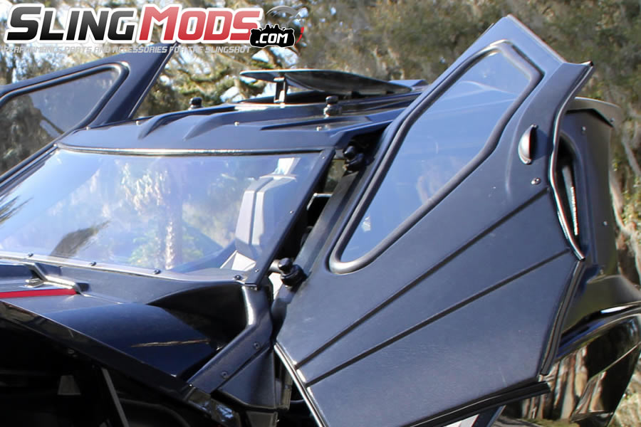 ... Slinglines Full Enclosure System For The Polaris Slingshot ...