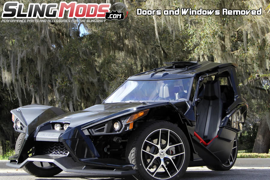 Polaris Slingshot Roof Windows Amp Doors Full Enclosure