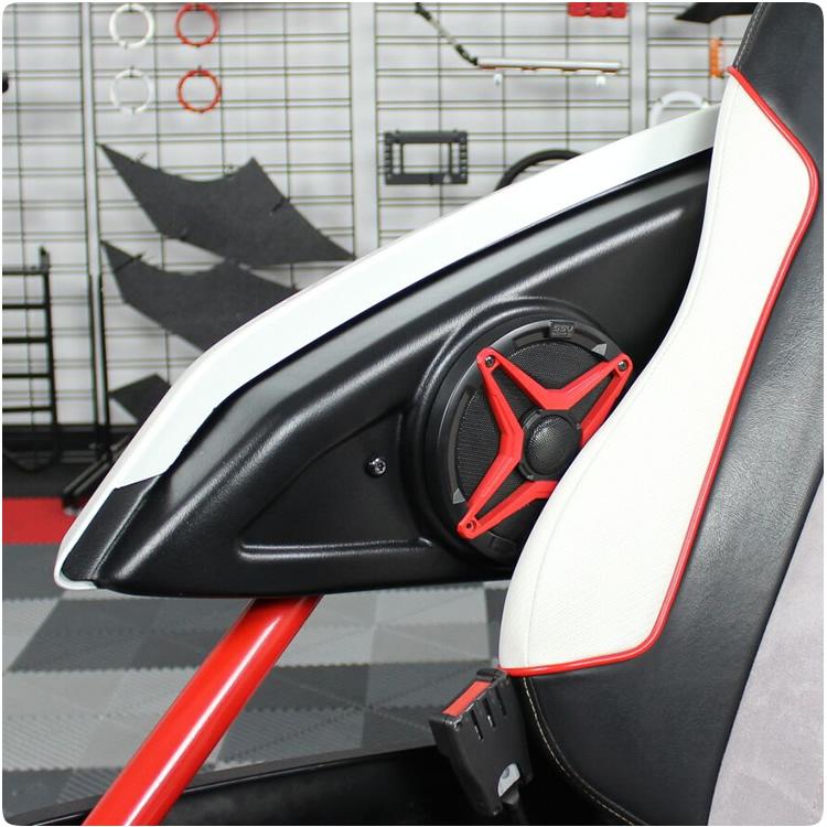 SSV Works Inside Arm Rest Speaker Pods for the Polaris Slingshot (Pair)