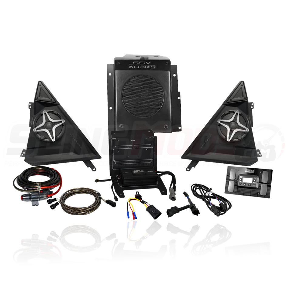 polaris slingshot full 3 speaker stereo system ssv works polaris slingshot aftermarket parts & accessories slingmods polaris slingshot radio wiring diagram at virtualis.co