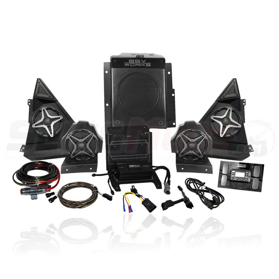 polaris slingshot full 5 speaker stereo system ssv works polaris slingshot aftermarket parts & accessories slingmods ssv works wiring diagram at mifinder.co