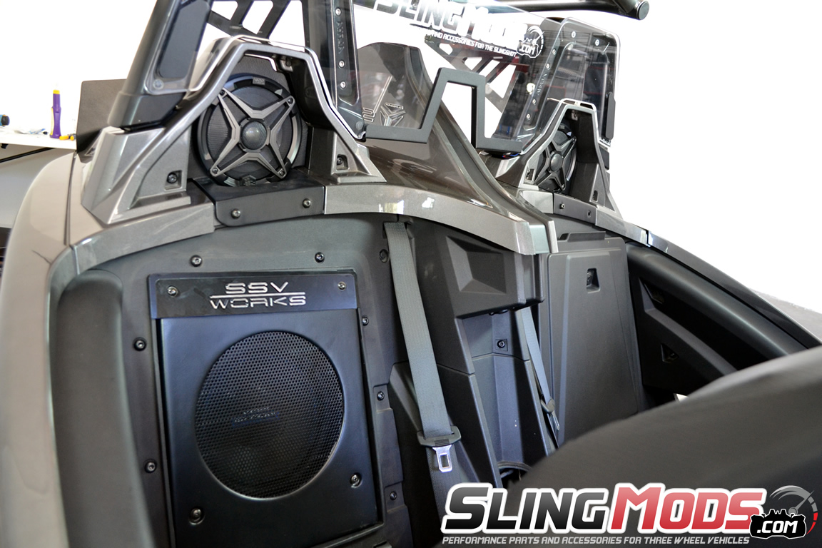 Slingshot Ssv Works Wiring Diagram Trusted Diagrams Schematics Polaris Complete 5 Speaker Stereo System By Rigging Spreader Beam