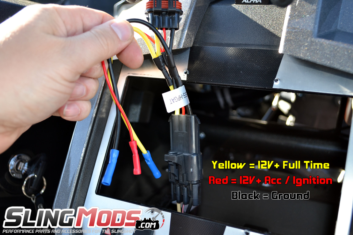 Polaris Slingshot Aftermarket Stereo Wiring Harness on Clarion Wiring Harness