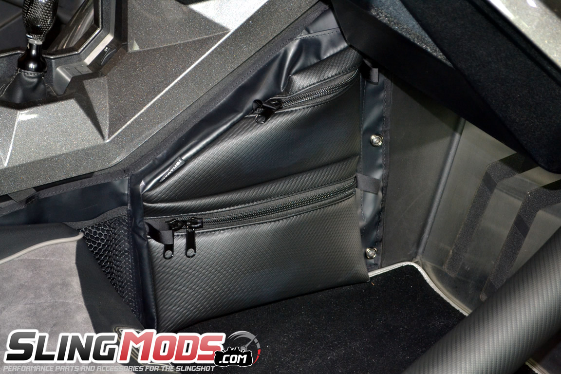 fd2c702495 ... Status Racing Passenger Side Knee Storage Bag for the Polaris Slingshot  ...