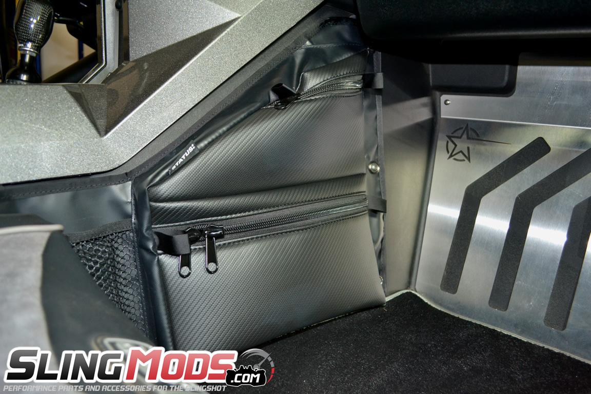 Polaris Slingshot Passenger Side Knee Storage Bag By