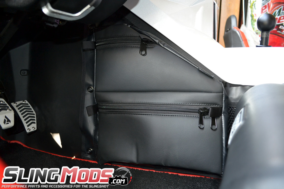 820bbcd7c7 More info about this product can be found here  Polaris Slingshot Driver  Side Knee Storage Bag by Status Racing